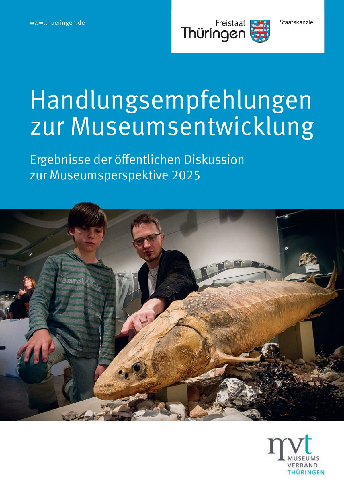 Die Broschüre für Handlungsempfehlungen im Museumsverband.