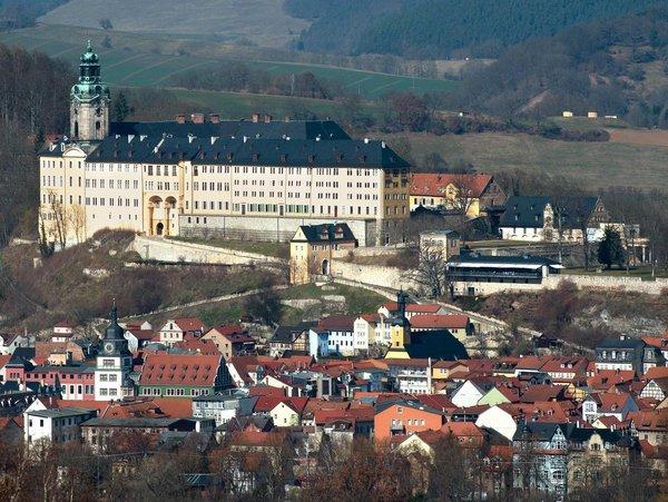 Luftaufnahme von Schloss Heidecksburg