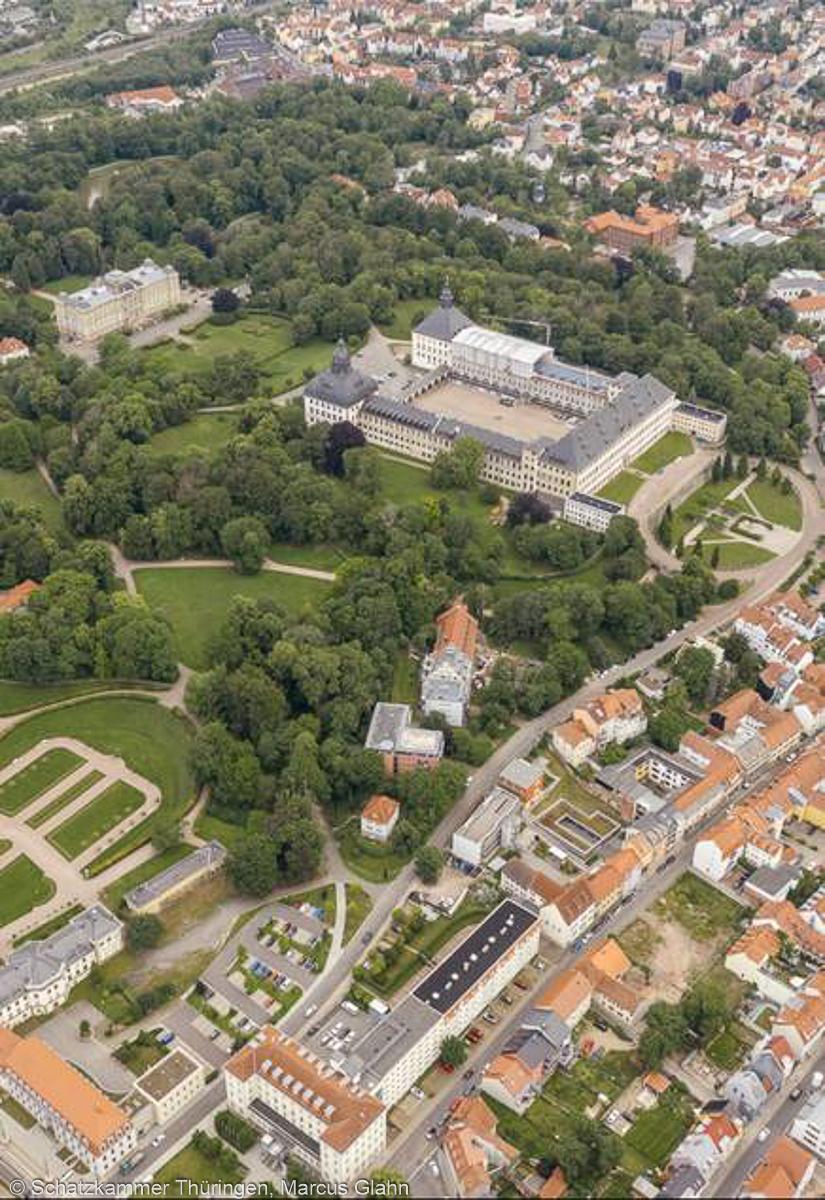 Schloss Friedenstein mit Herzoglichem Park