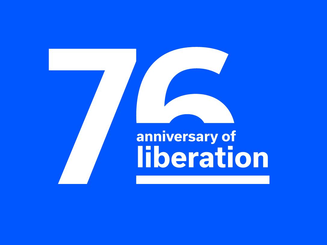 Logo des Stiftung Buchenwald zur Erinnerung an die Befreiung vor 76 Jahren